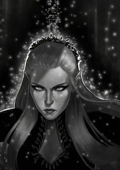 """Feyre "" From the book series A Court of Thorns and Roses. What can I say? My hand slipped! Still, I might try to do something a little more polished in the future, this was mostly a product of procrastination (oops?) and fairly quick. [Spoilers of..."
