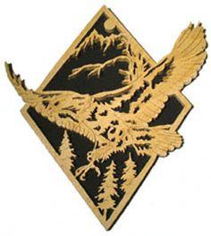Bald Eagle Diamond Project Pattern