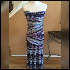 ✨🆕Strapless Sundress✨ Excellent Condition. Never worn! Tags are still attached. If your a large it will fit✨Price is firm. Cherry Krave Dresses Maxi