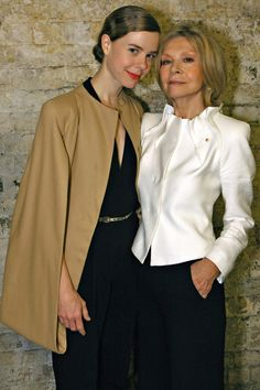 Carla Zampatti and daughter Bianca Spender.