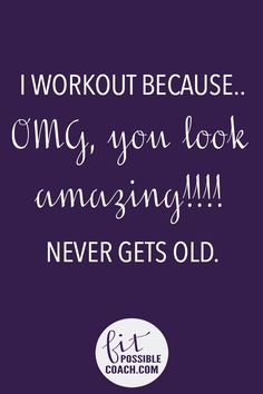 What's your reason for working out?