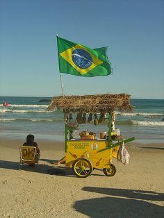 Praia Joaquina - Florianópolis, Brazil