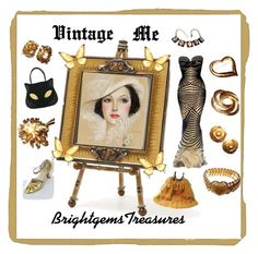 Vintage Me by brightgemsu on Polyvore featuring Irregular Choice, Olivia Riegel, vintage, women's clothing, women's fashion, women, female, woman, misses and juniors