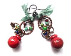 Hey, I found this really awesome Etsy listing at https://www.etsy.com/listing/211691100/earthy-colorful-bohemian-funky-dangle