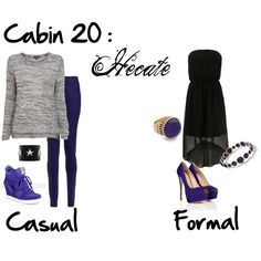 """Cabin 20: Hecate"" by idmiliris on Polyvore"