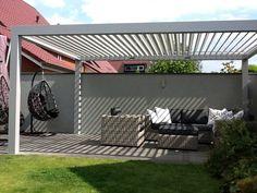 Pergola For Small Backyard Pergola Alu, Aluminum Pergola, Curved Pergola, Pergola Swing, Deck With Pergola, Covered Pergola, Wooden Pergola, Patio Roof, Pergola Patio