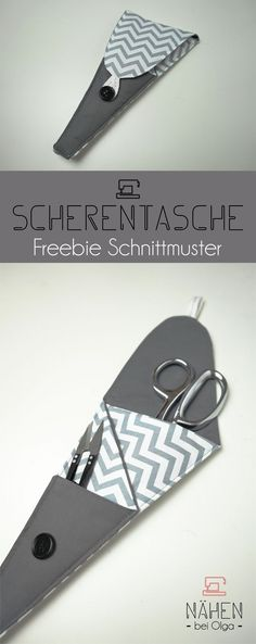 nice and practical scissors bag. A freebie for everyone who needs something . -A nice and practical scissors bag. A freebie for everyone who needs something . Sewing Hacks, Sewing Tutorials, Sewing Crafts, Sewing Tips, Fabric Crafts, Sewing Machine Projects, Sewing Projects For Beginners, Sewing Kids Clothes, Sewing For Kids