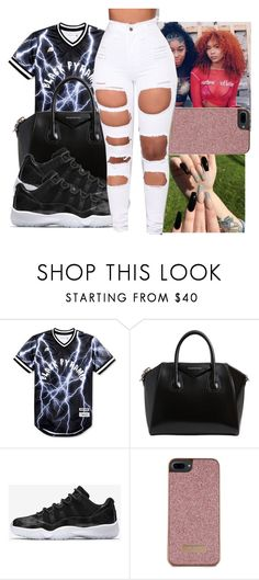"""""""Untitled #409"""" by ajdagoddess ❤ liked on Polyvore featuring Black Pyramid, Givenchy, NIKE, Ted Baker and Amina"""