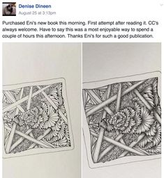 If you are ready to take your Zentangle art to the next level, learn how to create incredibly intricacy through the power of Overlap. Zentangle, Shading Techniques, So Many Questions, Checklist Template, Tangle Patterns, Zen Art, Tangled, New Books, Tiles