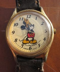 Mickey Mouse Watch not quite the same as mine, but near enough!! Xx