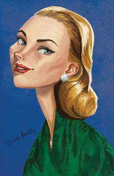 Grace Kelly by CCillustrations