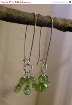 HOLIDAY SALE Jen      Faceted Peridot by ScorpionMoonDesigns, $55.25