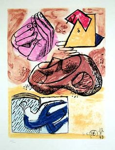 Le Corbusier, Modern Prints at Kass/Meridian