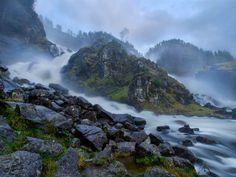 Mystic Waterfall 4 by da-phil.deviantart.com on @DeviantArt