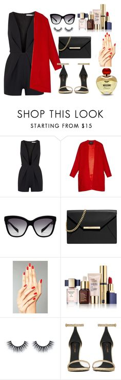 """""""Untitled #84"""" by anano-picxelauri ❤ liked on Polyvore featuring Finders Keepers, Derek Lam, Dolce&Gabbana, MICHAEL Michael Kors, Estée Lauder, Yves Saint Laurent and Moschino"""