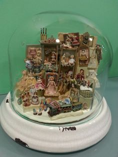 Colección de miniaturas de Almudena González.