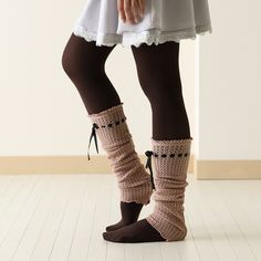 While tights and leg warmers under boots has been big in Europe for a while, I feel like it is finally becoming mainstream in America. These are sure to get you noticed!