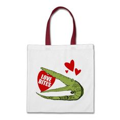 Funny Valentine's Day Gift Tote Bags  Click on photo to purchase. Check out all current coupon offers and save! http://www.zazzle.com/coupons?rf=238785193994622463&tc=pin