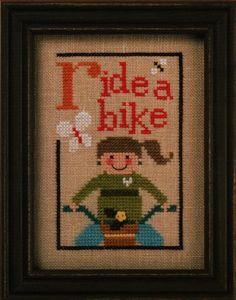Ride a Bike, from the Green Flip-It Collection, designed by @Linda Ebright, from Lizzie Kate.