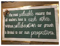 Staff Bulletin Boards, Leadership Bulletin Boards, Staff Lounge, Teacher Lounge, Inspirational Bulletin Boards, Inspirational Quotes, Teacher Morale, Staff Morale, Teachers Room