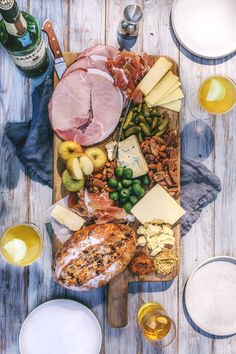 St Patricks Day charcuterie and cheese board
