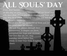 All Saints Day Prayer All Souls' Day Card 1 inspirations