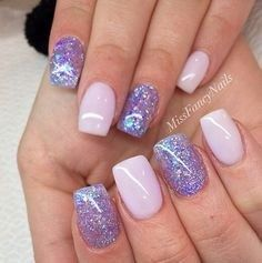 "The cool thing about accent nails is that you don't need a design on every finger. Try adding black accents on all ten nails or compliment one or two. ""It can be tricky incorporating black accents to nails,"" saysA base of silver or gold will always work, but to go bolder and more exciting, use … … Continue reading → #FrenchTipNails"
