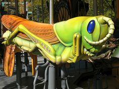 Greenway Carousel Grasshopper