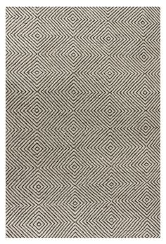 Sierra Paddle Rug Ivory | Contemporary Rugs (8' x 10' $714.00)