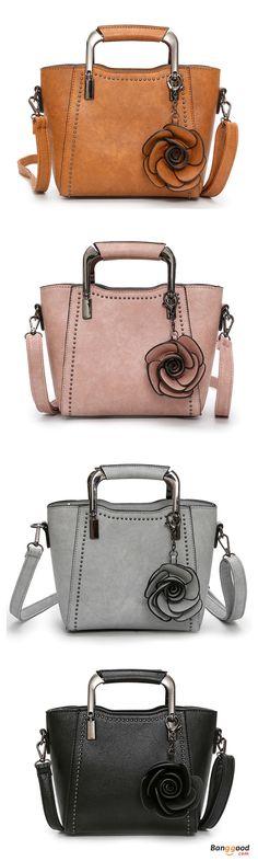 US$34.99+Free shipping. Women Bags, Rose Tote Bag, Handbag, Shoulder Bag, Crossbody Bag, PU Leather, Retro. Color: Black, Brown, Gray, Pink. Shop now~