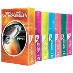 Star Trek Voyager: Seasons 1-7 DVD Set...quite possibly the greatest thing I own