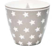 Star Warm Grey, Lattekopp - GreenGate