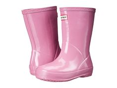 "Hunter Kids First Gloss (Toddler) at Zappos.com. Fondant Pink. $55.00. 6.5"" Shaft Height."