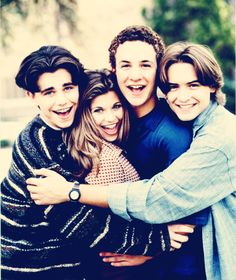 oh, the good old days of spending friday nights with shawn, topanga, cory and eric