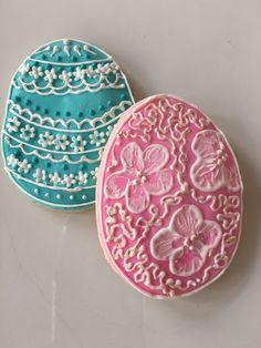 Gluten-Free Decorated Easter Cookies