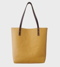 Small Leather Tote | This leather tote makes a lovely catch-all for all the essenti... | Tote Handbags