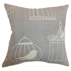 Alconbury Linen Pillow. Can totally make this..