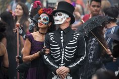 """""""Thedead are alive,"""" we're told in writing at the start of Spectre. There's a clue to take seriously, although at first it seems only to point to the amazing pre-credits opening sequence, filmed at Mexico's Day of the Dead, when crowds parade in skeleton costumes and skull masks."""