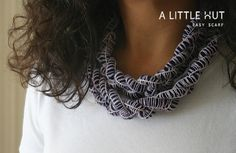 How-To: Easy Finger-Crocheted Scarf