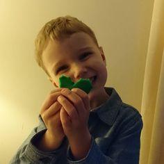 My little love made me a Playdoh heart because he loves me #mummysboy #lovehim #Playdoh #ukmumsquad