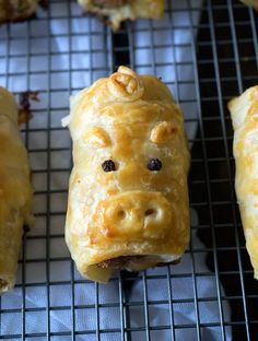 Pork Bacon & Cheese Sausage Puff Pastry Rolls, AKA Piggie Rolls! — The cutest pork bacon & cheese sausage rolls you will ever see and eat. Easy to make and delicious to eat!