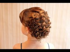 Braid Updo video tutorial for girl's hair - might want to try this for Easter!