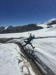 Across the glacier Climbers, Mountains, Nature, Travel, Naturaleza, Viajes, Destinations, Traveling, Trips