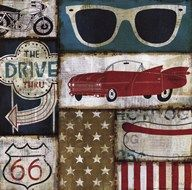American Pop II  Fine Art Print
