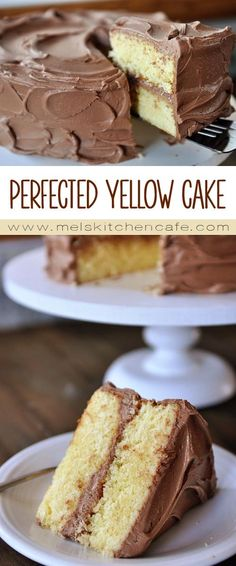 I've been on a quest to perfect the best yellow cake on the planet. And this is it!