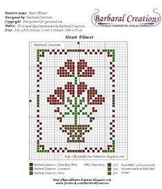 Barbaral Creations: Free patterns... 28.5.2015