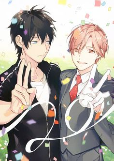 Shirotani Tadaomi x Kurose Riku ☆ Ten Count Hot Anime Boy, I Love Anime, All Anime, Me Me Me Anime, Anime Guys, Manga Anime, Anime Art, 10 Count Manga, Ten Count