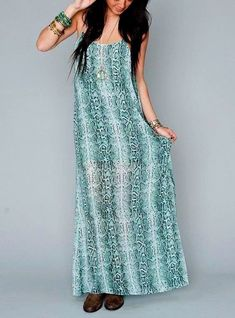 Show Me Your Mumu Draped Maxi Dress Blue Python Long Chiffon Gown Large 821406 #ShowMeYourMuMu #WeddingGuest #Maxi #Gown #MaxiDress #AnyOccasion #Shopping #Forsale