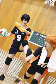 erlan(二蓝) Tobio Kageyama, Shoyo Hinata Cosplay Photo - WorldCosplay