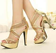 Lace glitter wedding high heel shoes for you!welcome retail and wholesale, all Free Shipping ! Online store : http://www.getmorebeauty.com